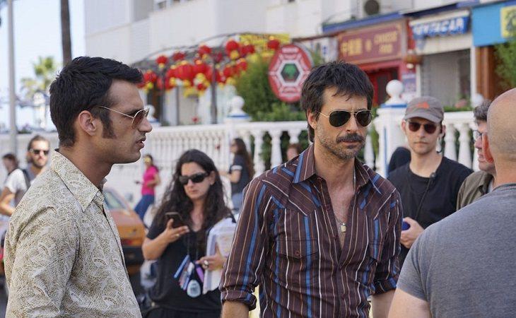 Jesús Castro y Hugo Silva en 'Brigada costa del sol'