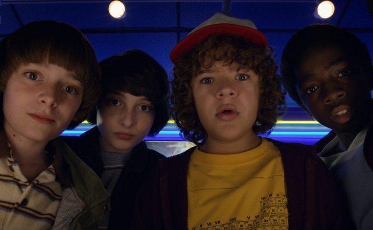 Jóvenes protagonistas de 'Stranger Things'