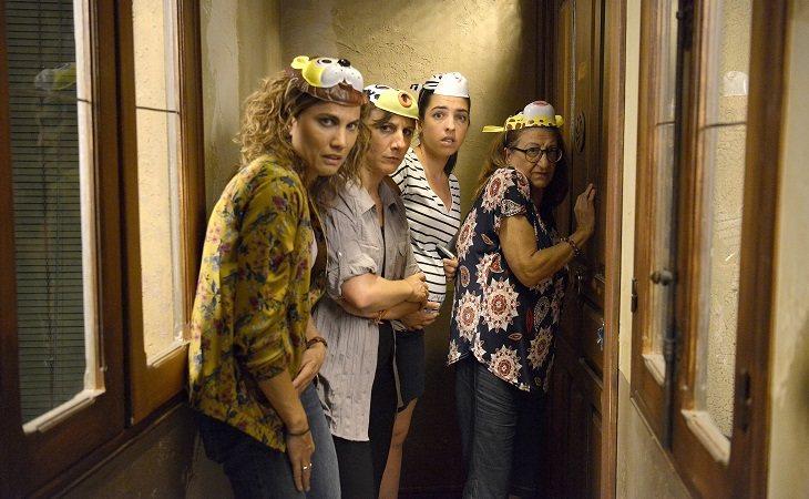Cuarteto protagonista de 'Señoras del (h)AMPA'