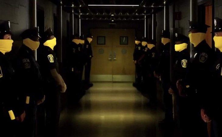 Fotograma de una escena de 'Watchmen'