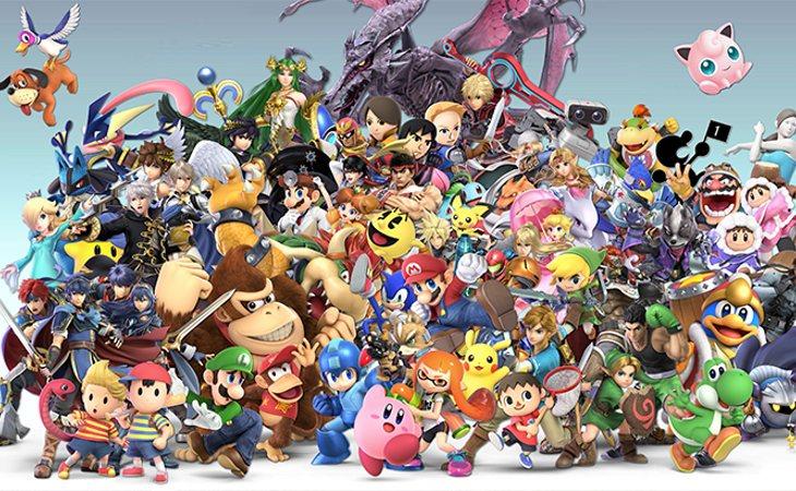 76 personajes y los que quedan por llega en 'Super Smash Bros Ultimate'