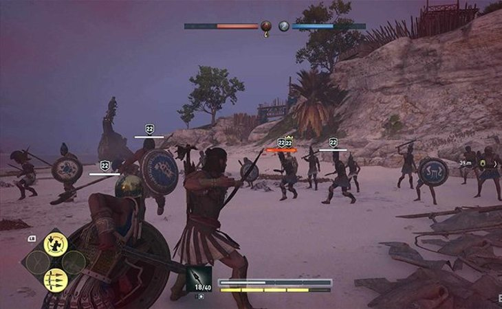 El combate ha evolucionado en un RPG con 'Assassin's Creed Odyssey'