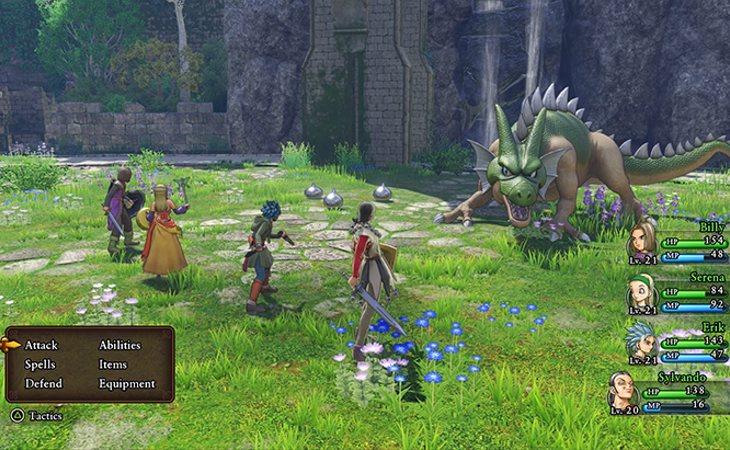El clasicismo de la saga sigue presente en 'Dragon Quest XI: Ecos de un pasado perdido'