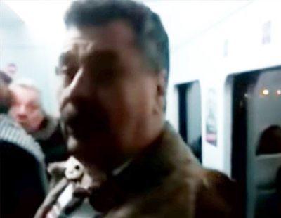 """Nuevo ataque racista en un tren de Madrid: """"Estamos en España, no en tu país"""""""