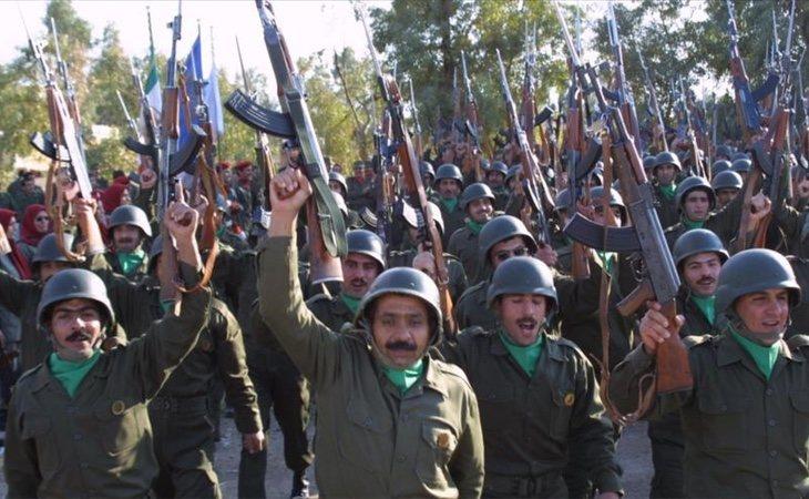 Varios miembros del grupo terrorista Muyahidin-e Jalq