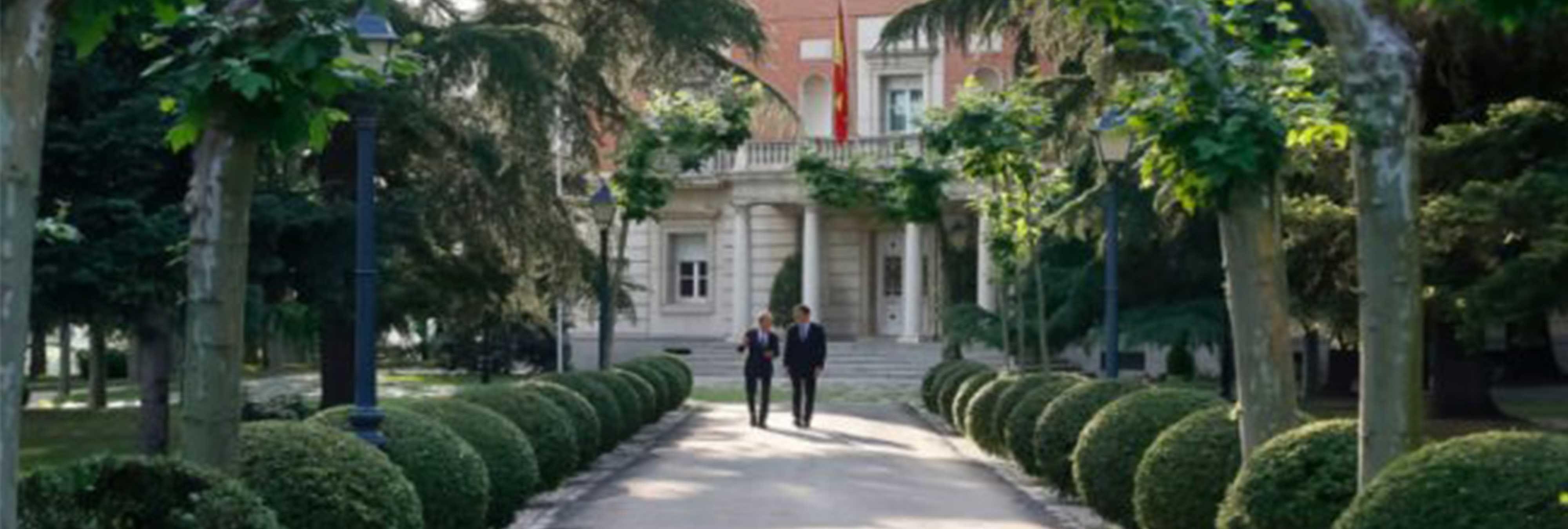 El mantenimiento de los jardines de la Moncloa asciende a más de 230.000 euros