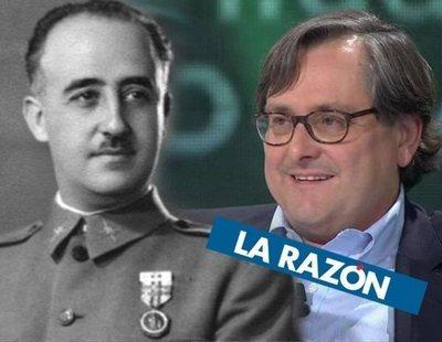 El vergonzoso artículo de La Razón exaltando sin tapujos la dictadura de Franco