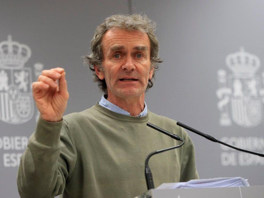 Fernando Simón, a la espera de conocer el resultado del test de coronavirus tras recibir un negativo no concluyente