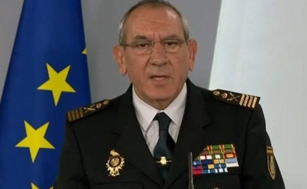 El Director Adjunto Operativo de la Policía Nacional, José Ángel González, ha dado positivo en coronavirus
