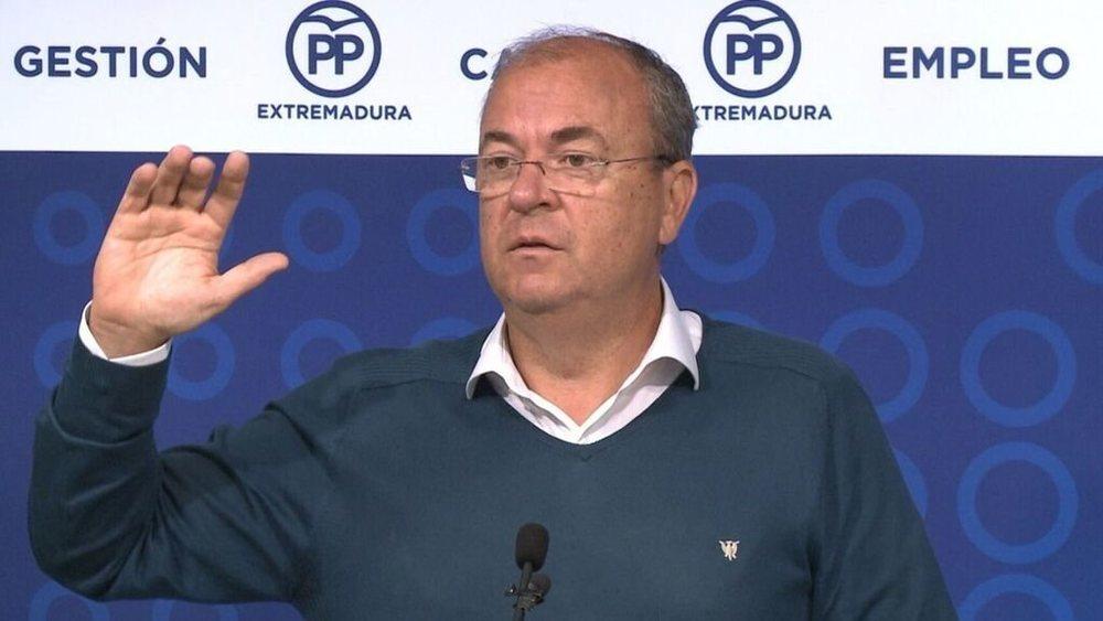 El expresidente extremeño, José Antonio Monago, denuncia una directriz del Gobierno para