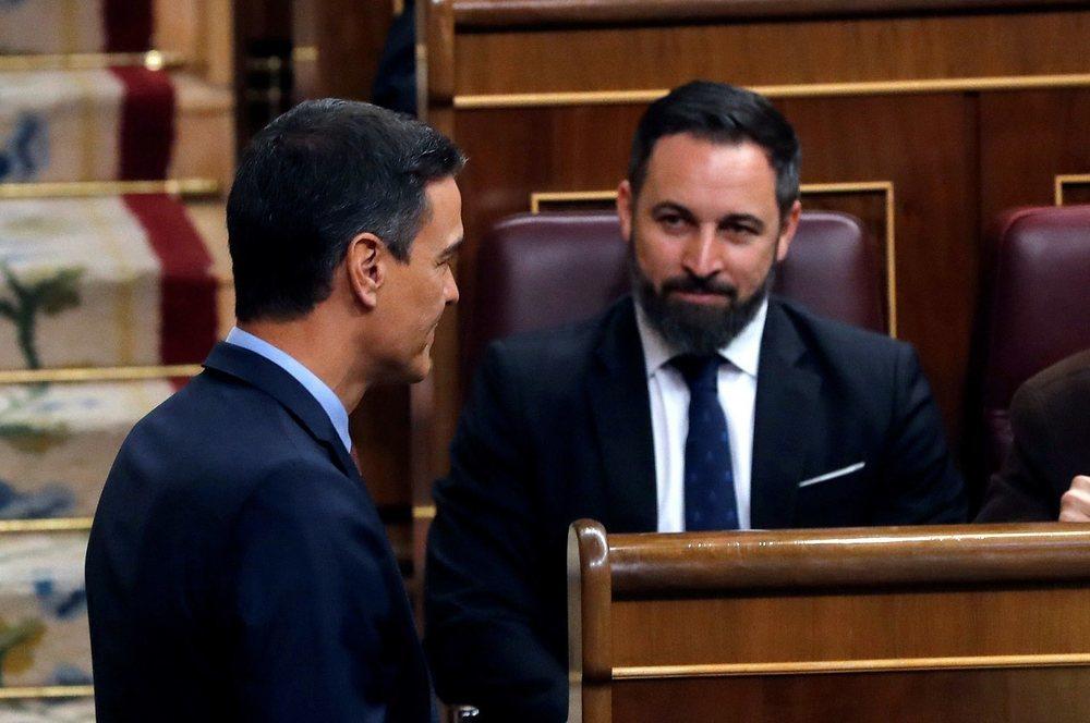 Santiago Abascal ha colgado el teléfono a Pedro Sánchez