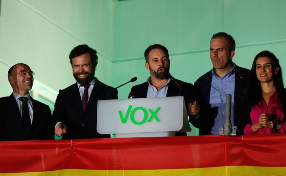 VOX solo apoyará la prórroga del estado de alarma si el Gobierno dimite