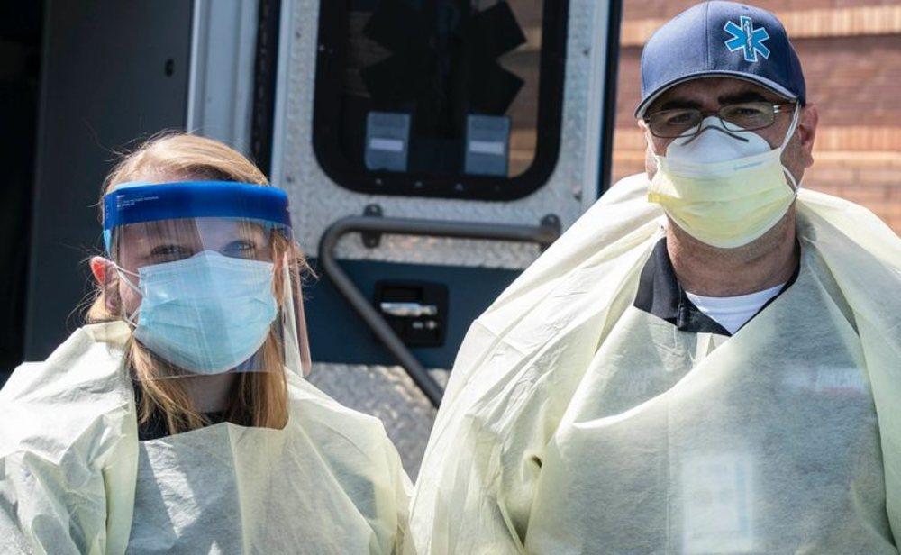 Estados Unidos ya supera los 400.000 contagios por coronavirus
