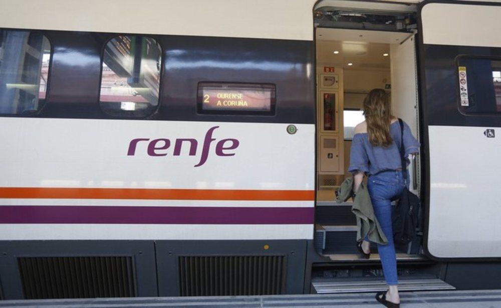 Renfe solo opera alrededor del 9% de su oferta habitual