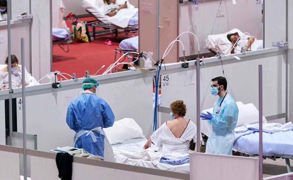 España registra la cifra más baja de menos contagios diarios desde el 20 de marzo