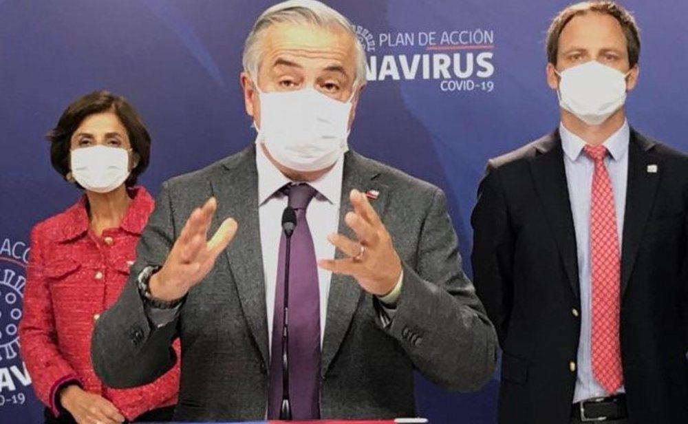 Jaime Mañalich, ministro de salud de Chile