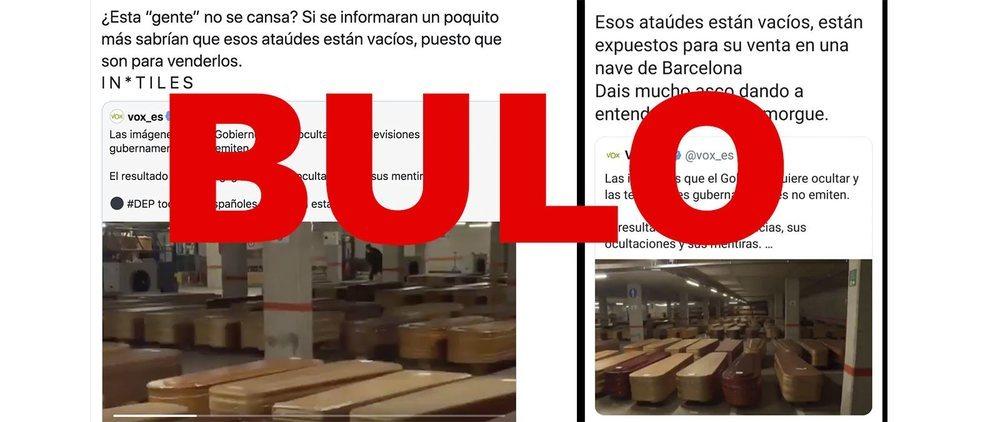 La Fiscalía investiga los bulos contra el Gobierno tras recibir una denuncia de Unidas Podemos