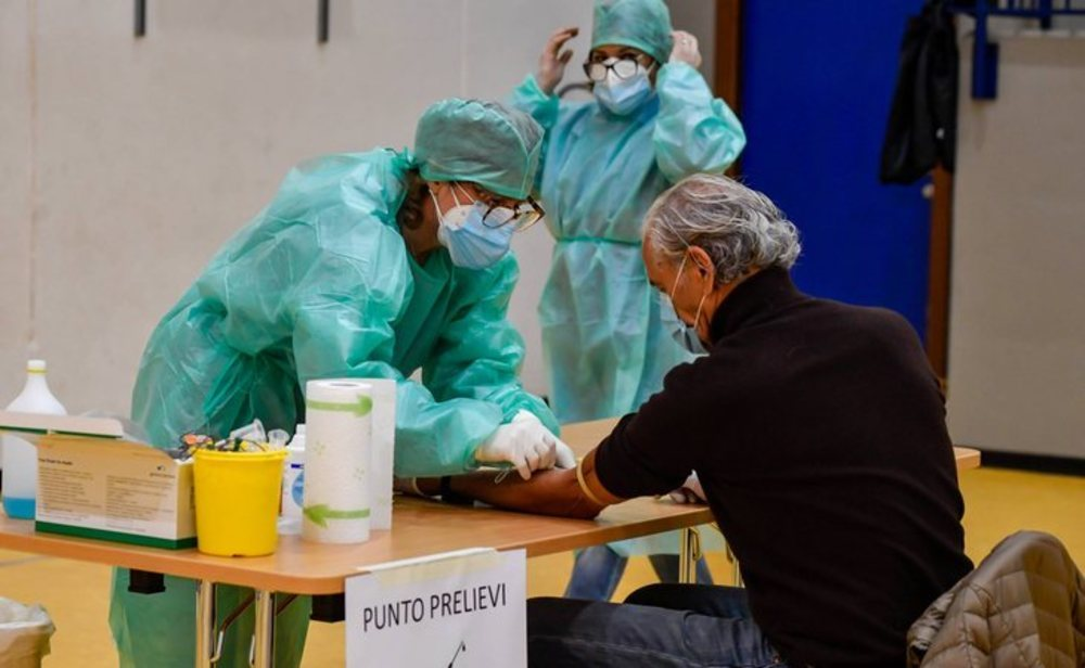 Italia registra el menor número de contagios desde el 10 de marzo