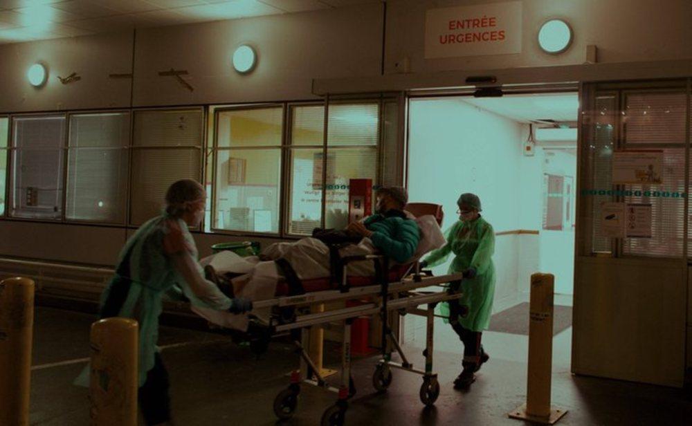 Francia es el tercer país europeo más golpeado por el coronavirus