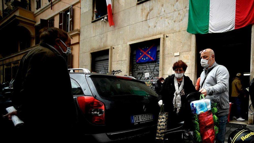 El coronavirus supera los 25.000 muertos en Italia