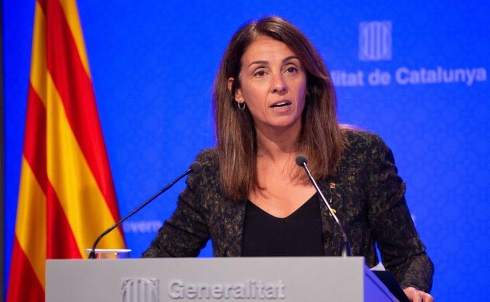 Meritxell Budó, consellera de presidencia de la Generalitat de Catalunya