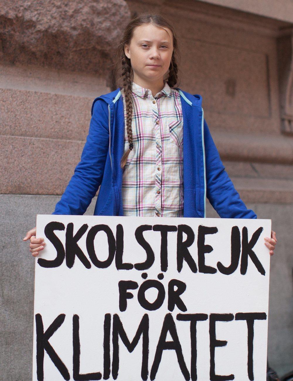 Greta Thunberg ha donado 100.000 dólares para la lucha contra el coronavirus | CC Wikimedia