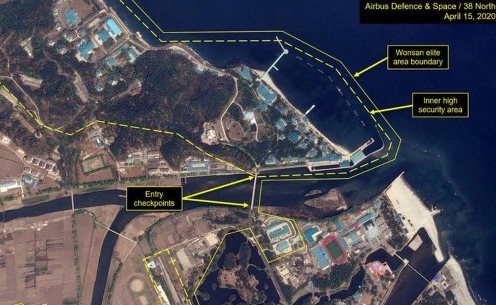 El resort de lujo en el que podría permanecer recluido Kim Jong-un