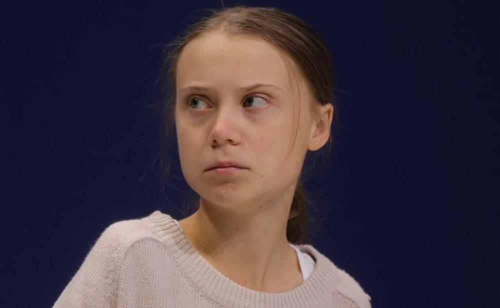 Greta Thunberg cree que podría tener el coronavirus