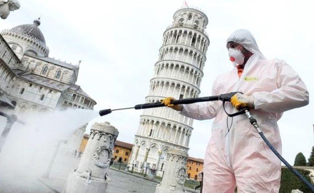 Italia es el quinto país con más contagios por coronavirus del mundo
