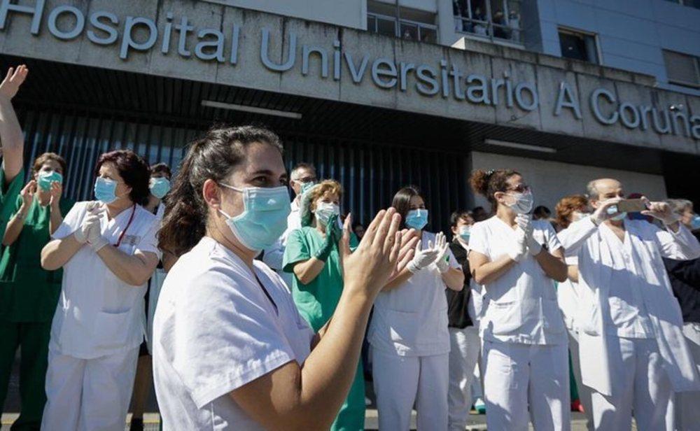 España continúa luchando contra el coronavirus
