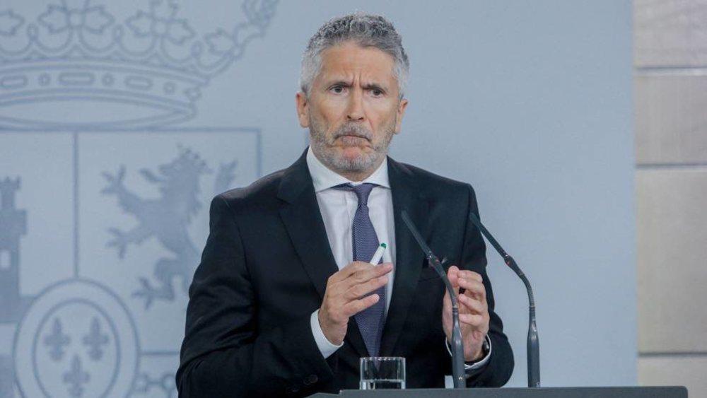 El ministro del Interior, Fernando Grande-Marlaska, ha apelado a la conciencia ciudadana en la lucha contra el coronavirus