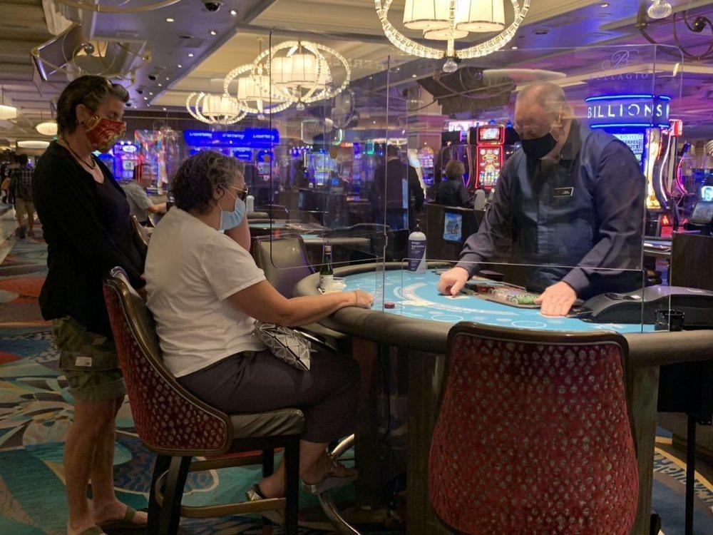 El Bellagio de Las Vegas vuelve a recibir clientes