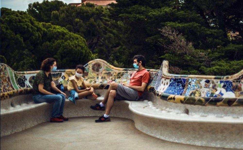 El  Park Güell, un de los lugares más visitados de Barcelona