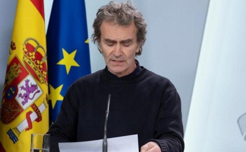Fernando Simón considera que España puede haber alcanzado el pico de la curva del coronavirus