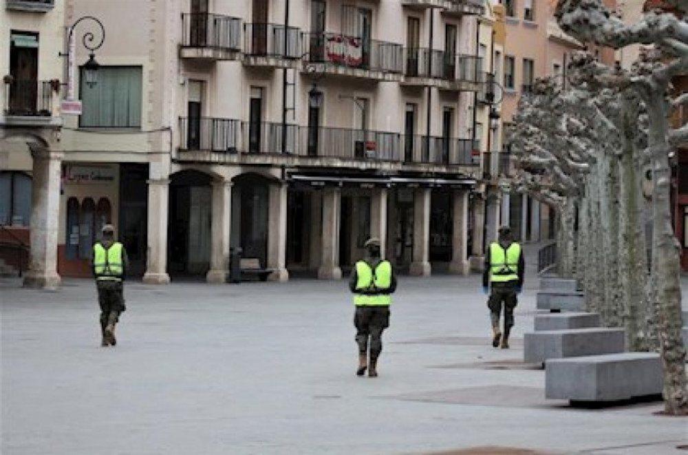 La Junta de Castilla y León se prepara para confinar el municipio de Aranda de Duero