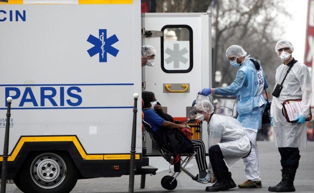 Francia, el cuarto país de Europa más afectado por el coronavirus