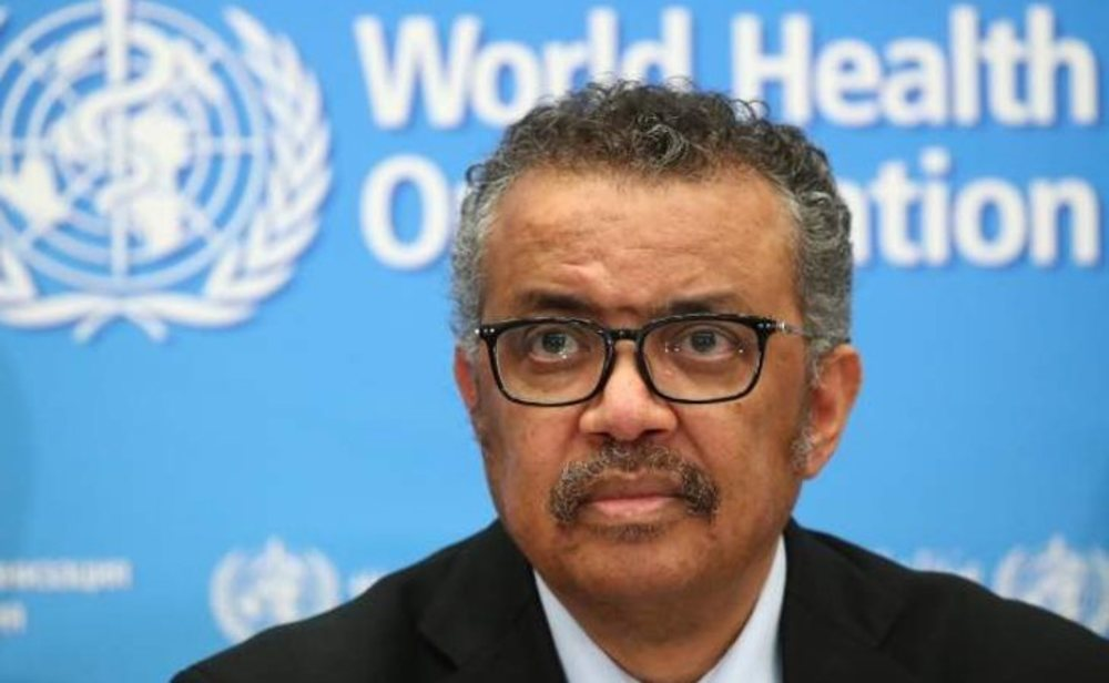 El doctor Tedros Ashanom, secretario general de la OMS