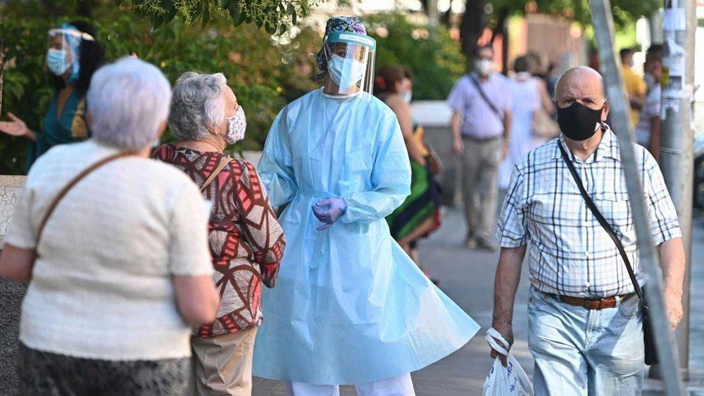 Los datos de coronavirus continúan al alza en España