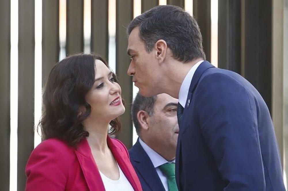 Isabel Díaz Ayuso demanda colaboración al presidente del Gobierno