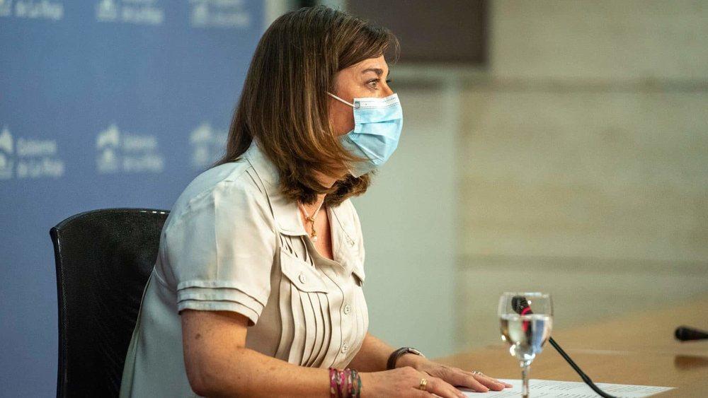 La consejera de Salud de La Rioja, Sara Alba