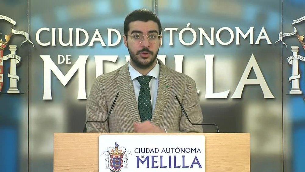 El consejero de Salud Pública de Melilla, Mohamed Mohamed Mohand