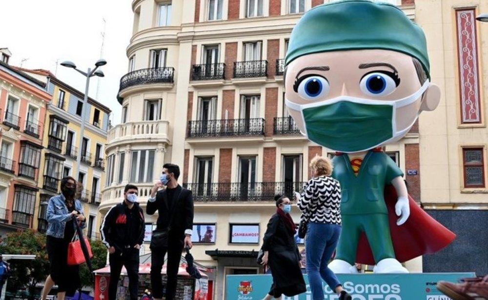 España ya se acerca al millón de contagios