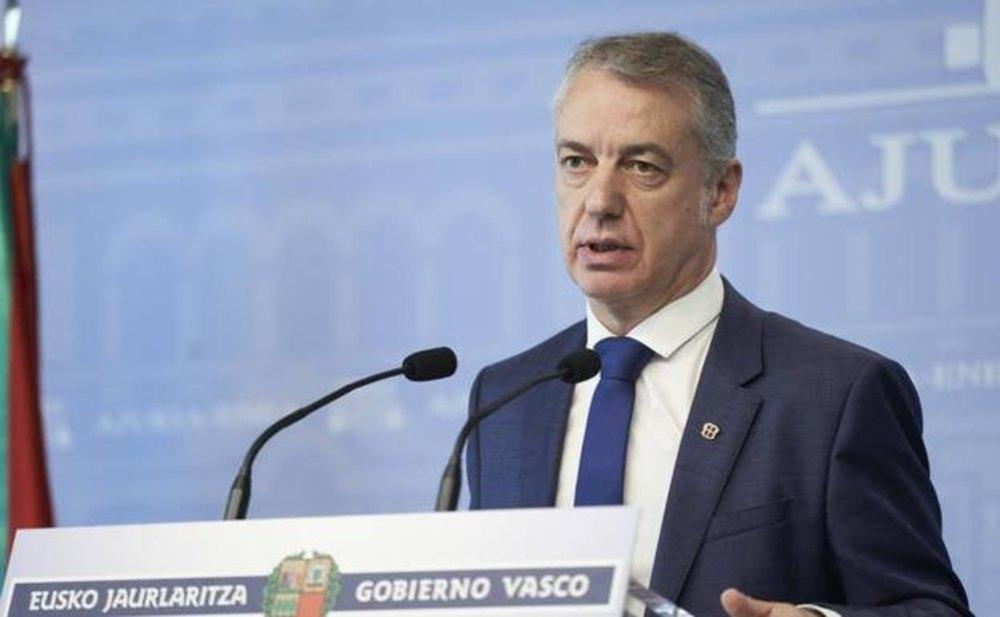 El lehendakari vasco Iñigo Urkullu