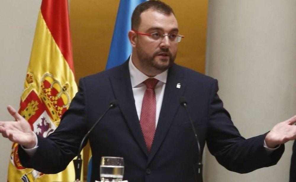 Adrián Barbón, presidente de Asturias