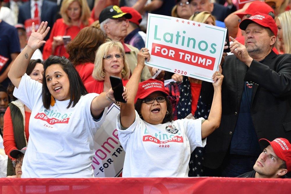 Trump ha agitado un voto ideológico para atraer a la comunidad cubana y venezolana afincada en Florida