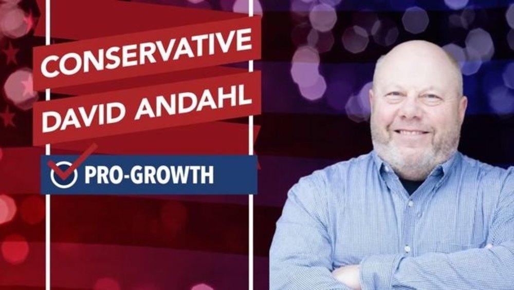 El candidato, en una imagen de campaña
