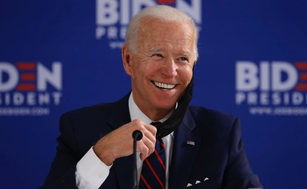 Joe Biden roza la presidencia de EEUU