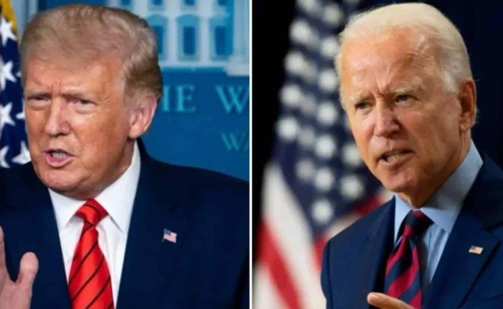 Donald Trump y Joe Biden, guerra por la Casa Blanca