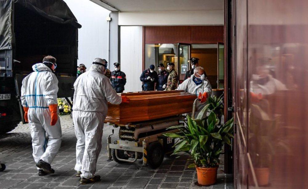 Récord de muertes por coronavirus en Italia en un solo día