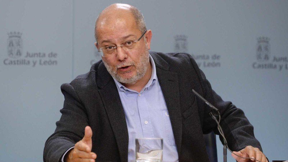 El vicepresidente y portavoz de la Junta de Castilla y León, Francisco Igea